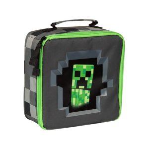 Torba-śniadaniowa-Minecraft-Creeper Lunch-Bag-1 (1)